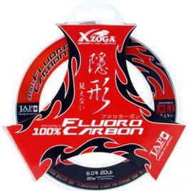 XZOGA 100% FLUORO CARBON 20m – 0.40mm – 10kg
