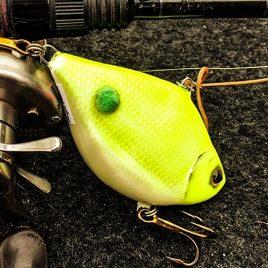 Fishmagnet Bream Cat 90gr 95mm chartreuse vertikális harcsa wobbler Varga Vili ajánlásával