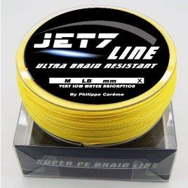 Jet7line 16x – 0.25mm 150m 24.95kg fluo sárga