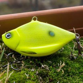 Fishmagnet Bream Cat 110gr 90mm Chartreuse vertikális harcsa wobbler Varga Vili ajánlásával