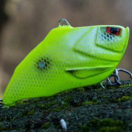 Fishmagnet Angry Again 80gr 95mm Chartreuse vertikális csendes harcsa wobbler Varga Vili ajánlásával