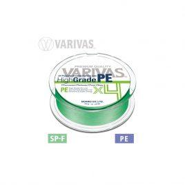 Varivas FIR HIGH GRADE PE X4 FLASH GREEN 150m 0.128mm 12lb PE 0.6