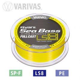 Varivas FIR SEA BASS SUPER SENSITIVE PE LS8 FULL CAST 200m 13.8lb Galben Fluo