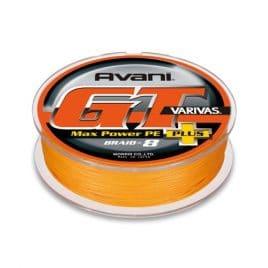Varivas AVANI GT MAX POWER PLUS PE X8 200m 0.570mm 150lb Orange PE 12.0