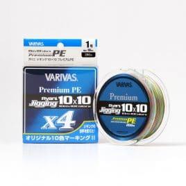 Varivas AVANI JIGGING 10×10 PREMIUM PE X4 200m 56lb 10mx10 Color PE 4.0