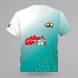 ZT versenypóló türkiz rövidujjú