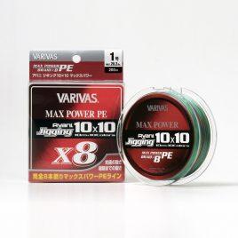 Varivas AVANI JIGGING 10×10 MAX PE X8 200m 48lb PE 3.0