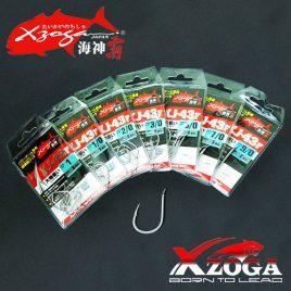 XZOGA Horog 3D FLATTED STEEL – XJ-43F  # 7/0 – 9/0