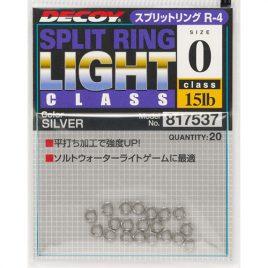Decoy R-4 Split Ring Light Class Silver