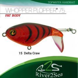 River2Sea Whopper Plopper 75 – Color 15 DeltaCraw
