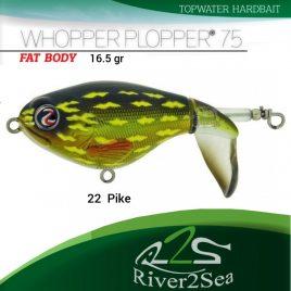 River2Sea Whopper Plopper 75 – Color 22 Pike