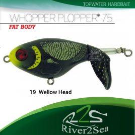 River2Sea Whopper Plopper 75 – Color 19 YellowHead