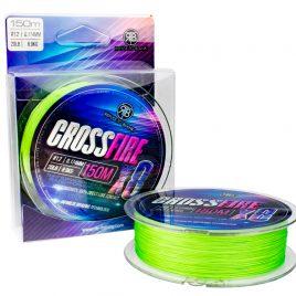 RTB Crossfire X8 Lime Green | 150m | #0.4 | 0.112mm | 10lb | 4.8kg