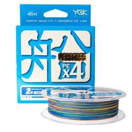 YGK Veragass PE X4 150m | #0.6 | multicolor