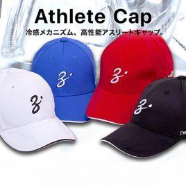 ZENAQ ATHLETE CAP – BLACK