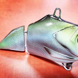 Fishmagnet Double Trouble 85gr 110mm Silver vertikális harcsa wobbler Varga Vili ajánlásával