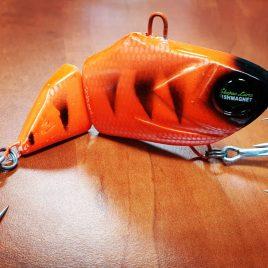 Fishmagnet Double Trouble 85gr 110mm Orange vertikális harcsa wobbler Varga Vili ajánlásával
