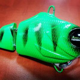 Fishmagnet Double Trouble 85gr 110mm Green vertikális harcsa wobbler Varga Vili ajánlásával