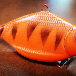 Fishmagnet BreamCat 110gr 90mm Orange vertikális harcsa wobbler Varga Vili ajánlásával